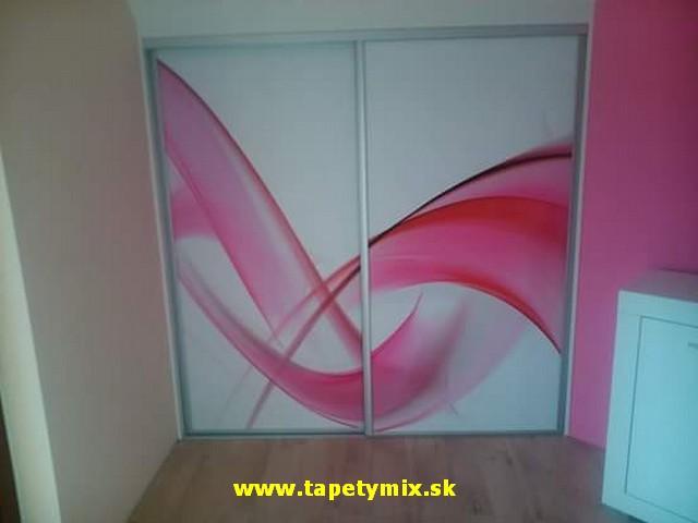 Fototapety na vestavěné skříne, nábytek, dveře - REALIZACE - Obrázek č. 36