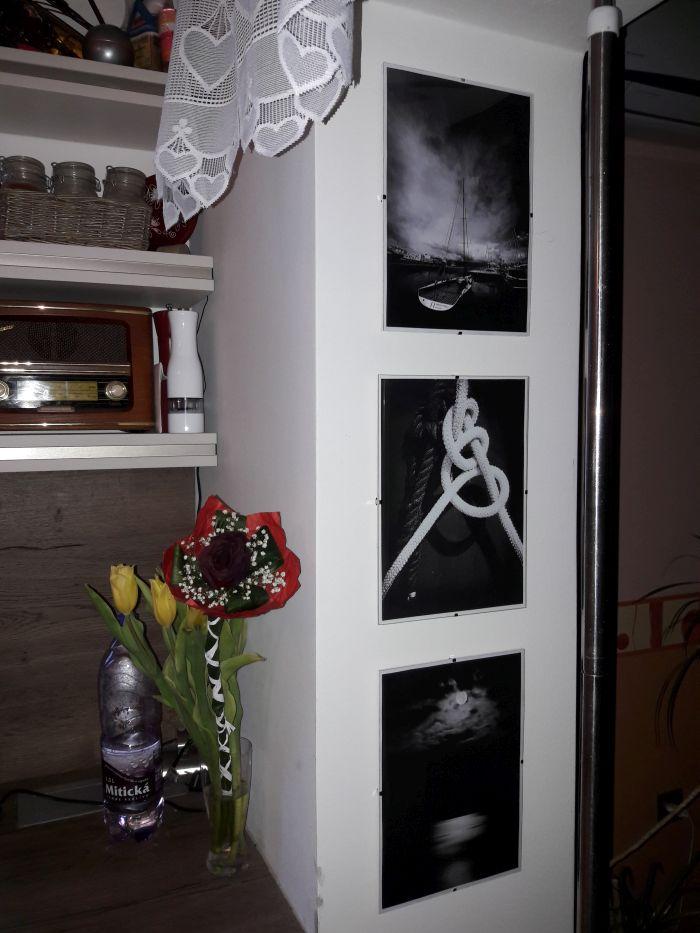 Obrazy na stěnu - v interieru našich zákazníků - Klip rámy s fotografiami v interieri