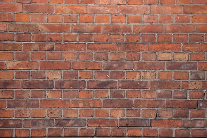 Tapety imitace přírodních materiálu - cihlová zeď