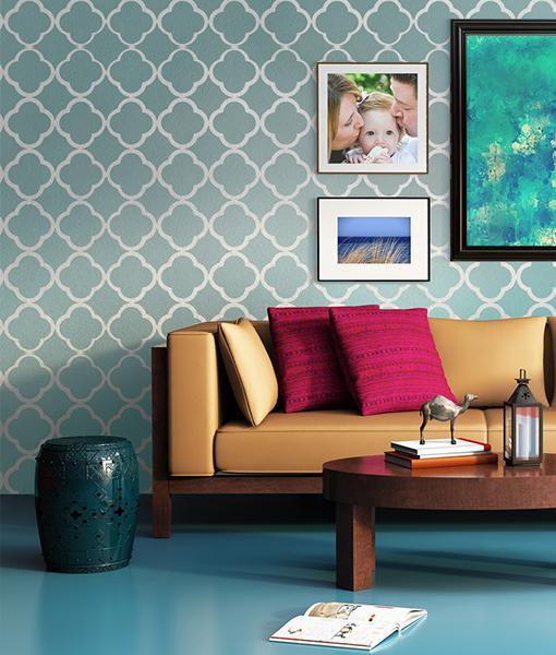 Šablóny na malování stěn i nábytku - Obrázek č. 1