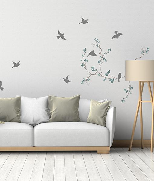 Šablóny na malování stěn i nábytku - Obrázek č. 36
