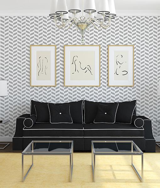 Šablóny na malování stěn i nábytku - Obrázek č. 68