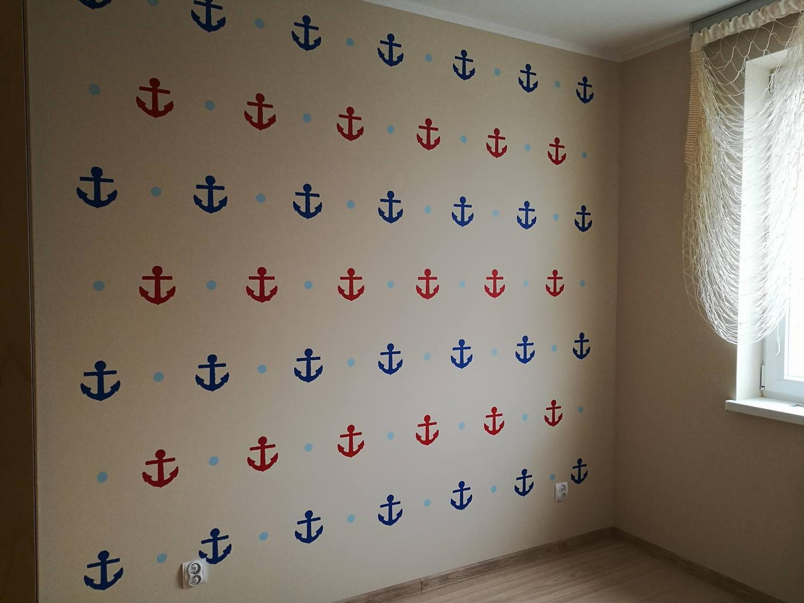 Šablóny na malování stěn i nábytku - Obrázek č. 104