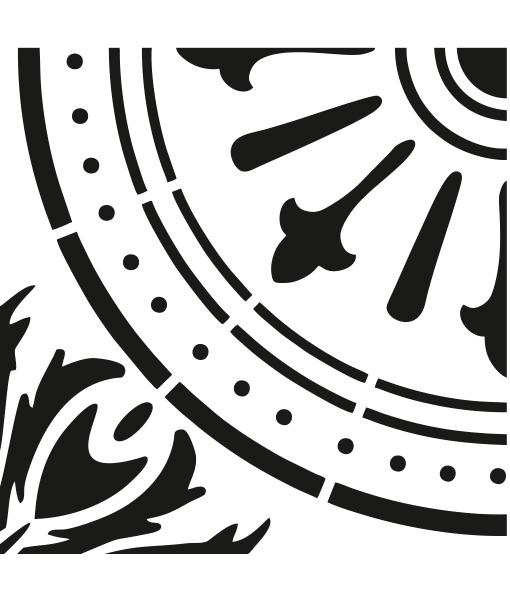 Šablóny na malování stěn i nábytku - Obrázek č. 113
