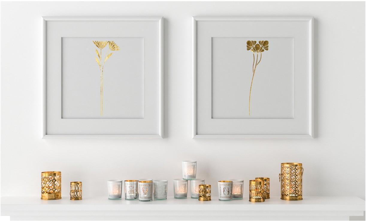 Samolepky na zeď ( 43 barev ) a Šablóny na malování - www.decotrend.sk/product/sk/sablona-na-malovanie-art-deco-flowers-st218