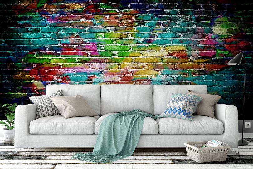 Co na zeď do obývacího pokoje? - https://www.tapetymix.cz/cs/tapety-cihla
