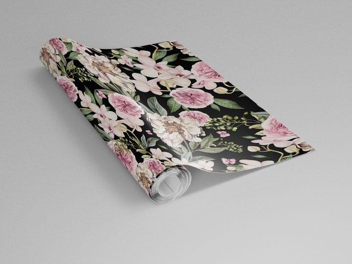 Co na zeď do obývacího pokoje? - https://www.tapetymix.cz/fototapeta/botanicka-fototapeta-peony-and-orchid-flowers-ft-218901662