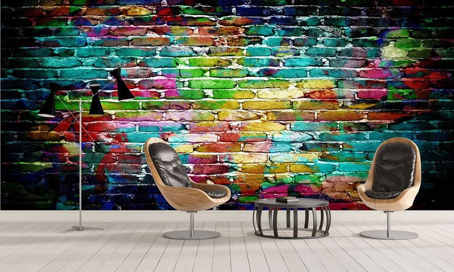 Tapety imitace přírodních materiálu - https://www.tapetymix.cz/fototapeta/tapeta-graffiti-cihlova-zed-ft-62706102