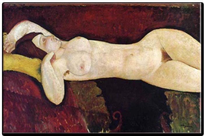 Reprodukce Amedeo Modigliani - Obrázek č. 9