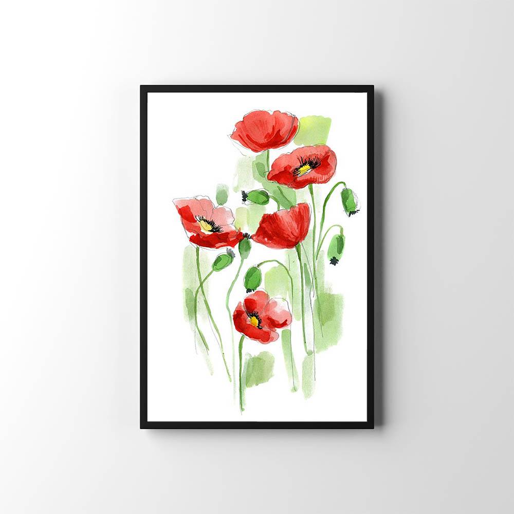 Plakáty s květinami 🌸🌼🌺 - Obrázek č. 11