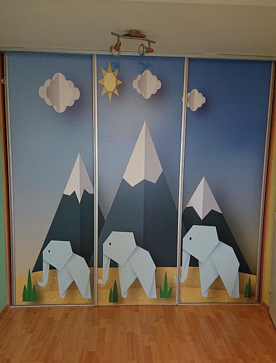 Fototapety na vestavěné skříne, nábytek, dveře - REALIZACE - Obrázek č. 93