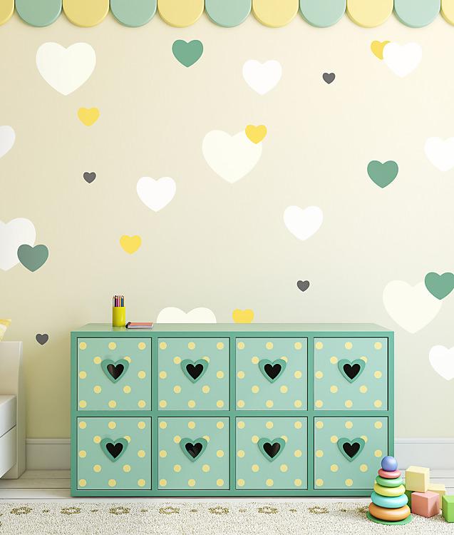 Šablóny na malování stěn i nábytku - Obrázek č. 352