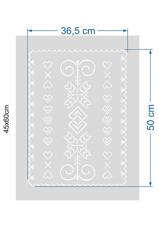 Šablóny na malování stěn i nábytku - Obrázek č. 422