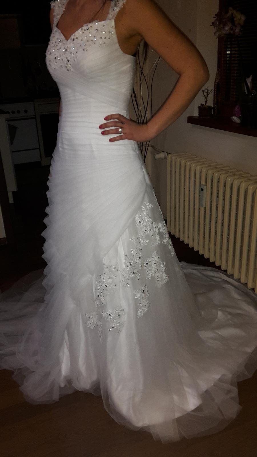 Svadobné šaty (nové) - Obrázok č. 1
