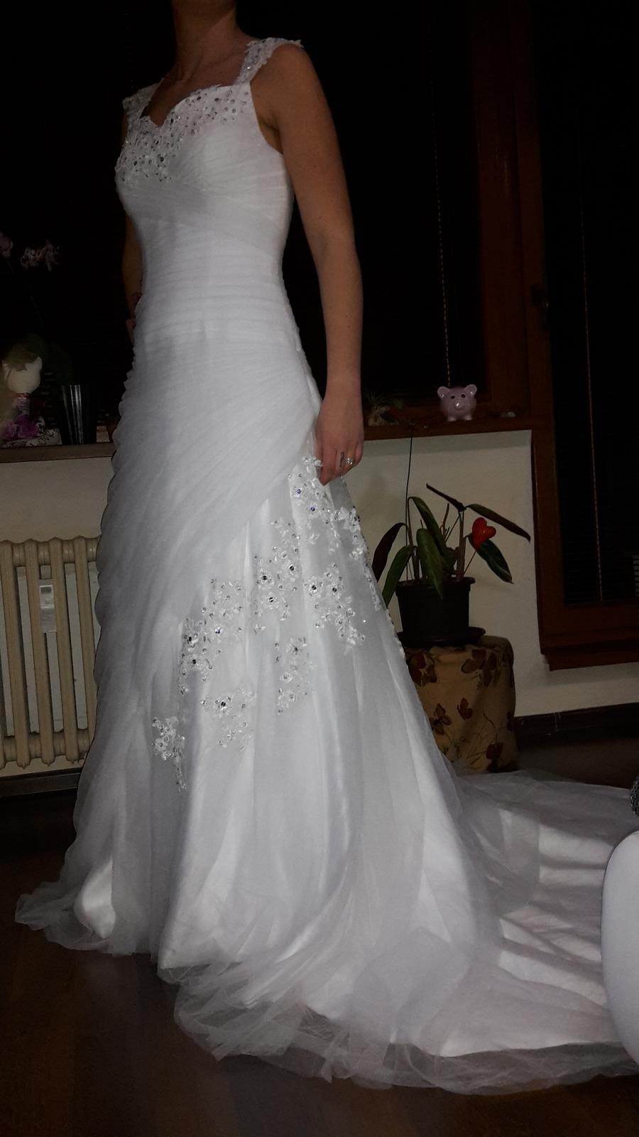 Svadobné šaty (nové) - Obrázok č. 2