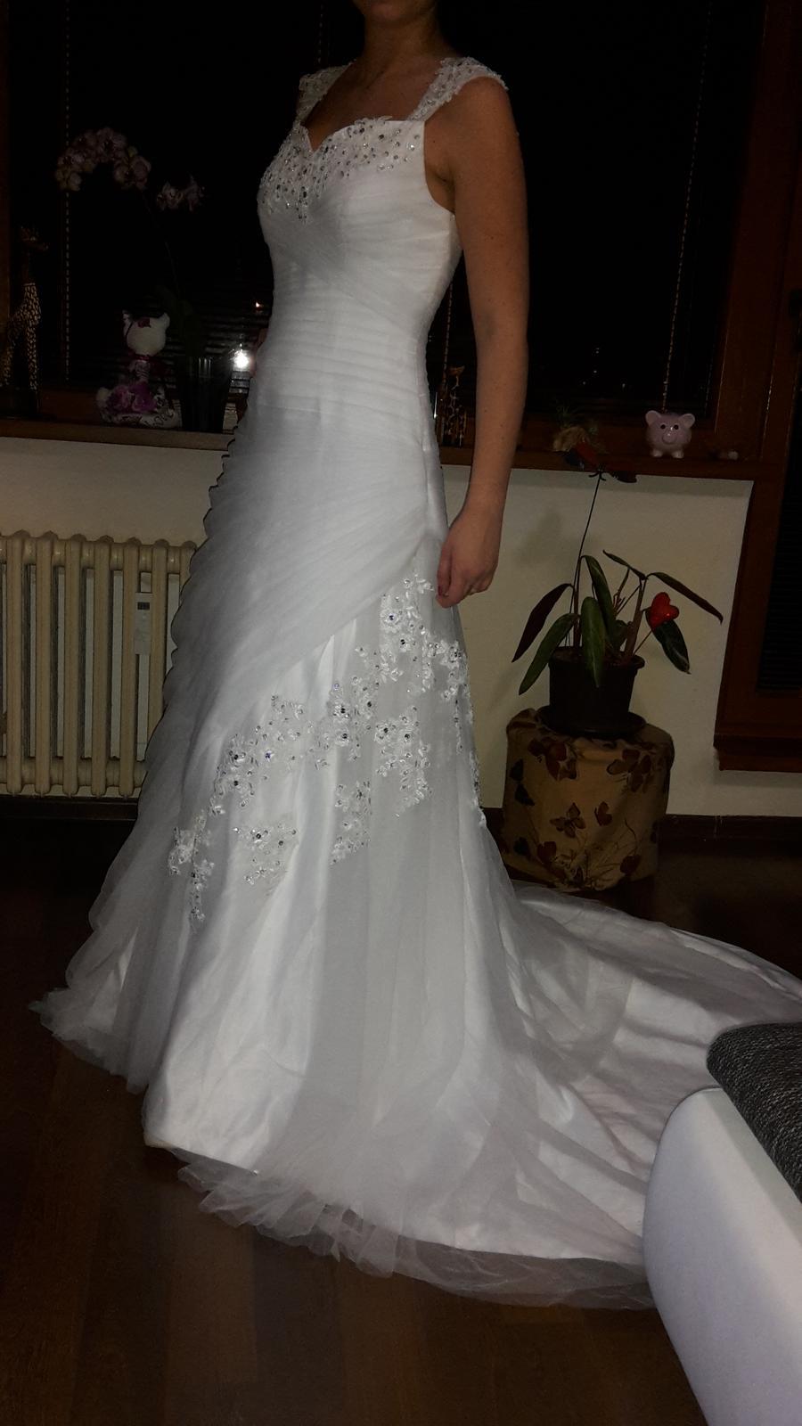 Svadobné šaty (nové) - Obrázok č. 3