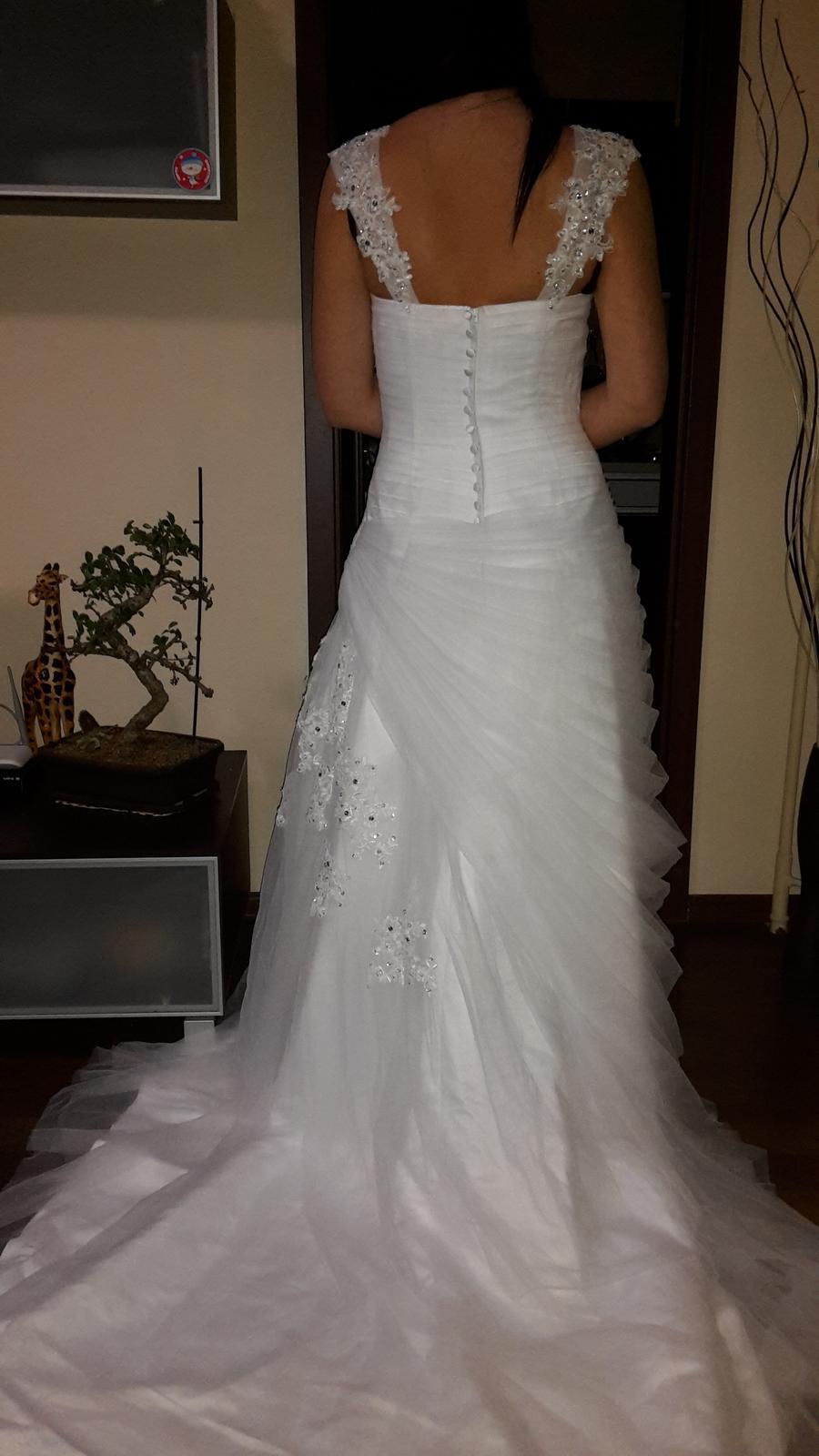 Svadobné šaty (nové) - Obrázok č. 4