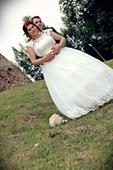 Svadobné šaty 44 až 48, 44