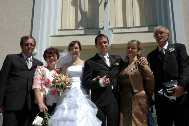 Gabika{{_AND_}}Radko - foto s rodičmi
