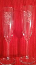 naše svatební skleničky