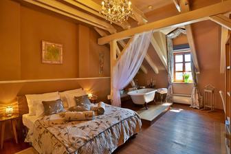 Náš zarezervovaný svatební pokojíček =)