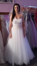 Moje princeznovské svatební šaty.