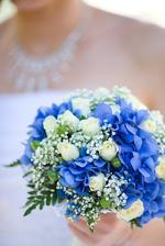 Moje svatební kytička...konečná verze =)