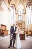 Svatební šaty značky Pronovias, 34
