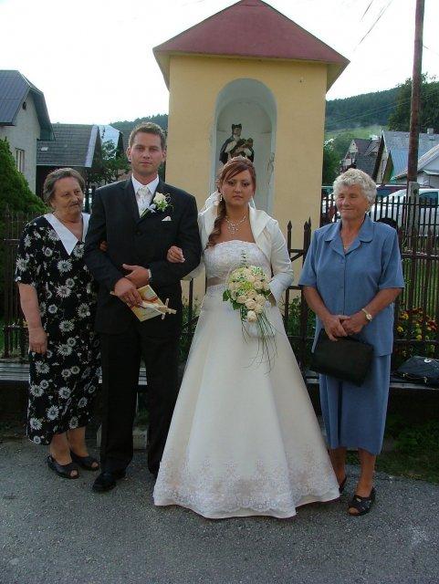 Babičky ženícha