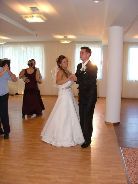 Prvý mladomanželský taneček
