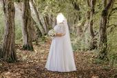 Svadobne šaty veľkosti 46-50 značky Natasha Azariy, 48