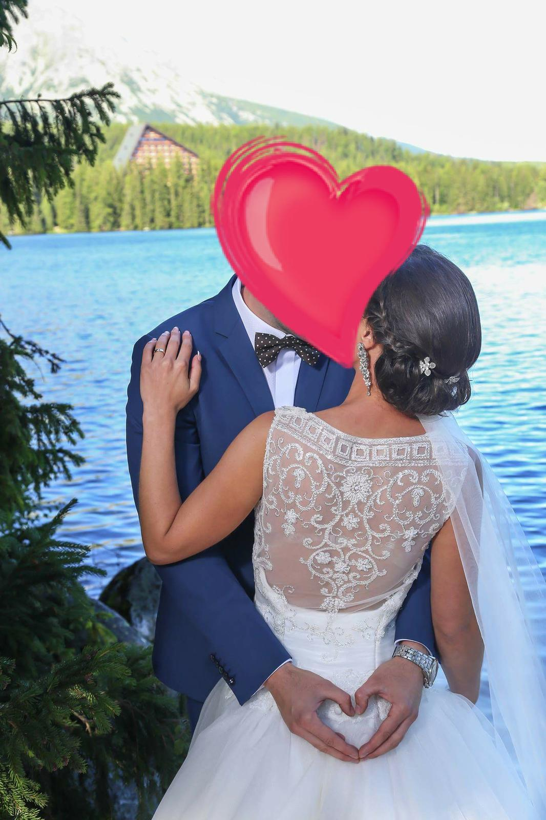 Nádherne svadobné šaty - Obrázok č. 1