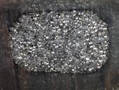 Dekorační srdíčka - mix stříbrných a průhledných,