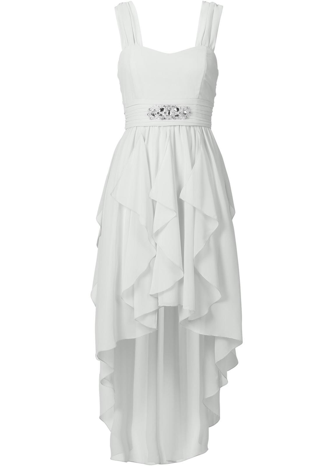 Jsou vubec ty šaty vhodné   Nechtěla jsem žádné princeznovské nebo  klasické. Uvažuju taky o bílých teniskách d472ea4b98