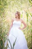 korzetové svatební šaty vel. 36-38, 38