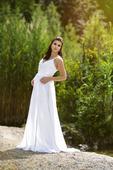 svatební šaty vhodné i pro těhotné, 38