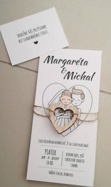 Naše homemade svatební pozvánky... - Obrázok č. 2