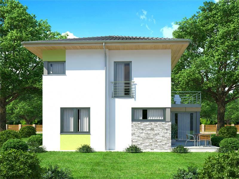 Stavba domu na kraji Prahy - Od společnosti EKONOMICKÉ STAVBY jsme si zvolili typ domu FRANTIŠEK, který nás nejvíce zaujal svými kompozicemi a rozmístěním pokojů. S menšími úpravami projektu jsme se rozhodli začít stavět právě tento typ domu.