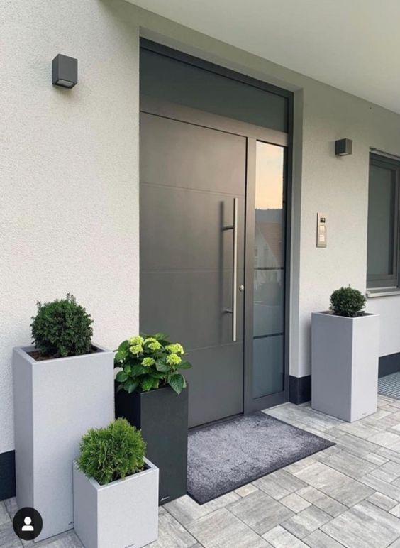 Inspirace zahrada - Krásný vchodový vstup - jednoduché a hezké.