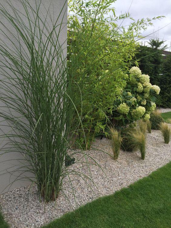 Inspirace zahrada - Čisté, jemné záhony a vysoké trávy. To jsou moji favorité.