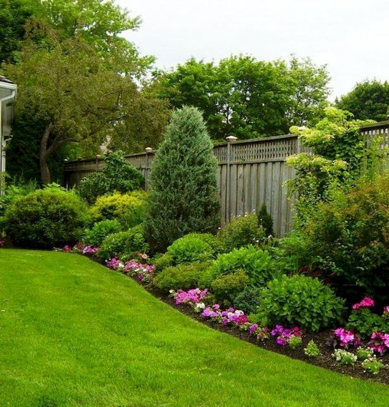 Inspirace zahrada - Fialová a zelená, to jsou zřejmě mé top barvy.