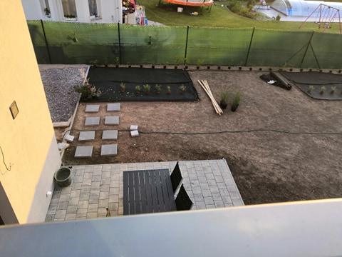 Zahrada na klíč - 3.7.2020 Kytičky přivezeny a ze stromů nám spadla brada. První obhlídka rostlin parádní.