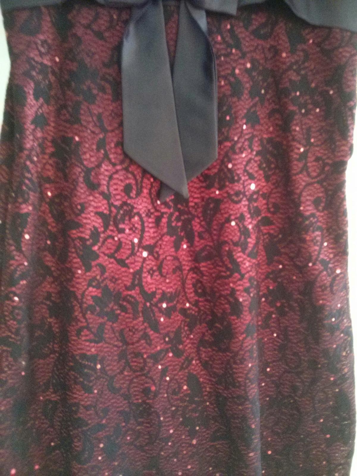 Čierne šaty s mašlou - Obrázok č. 3