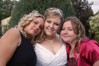 S Luckou a sestřičkou