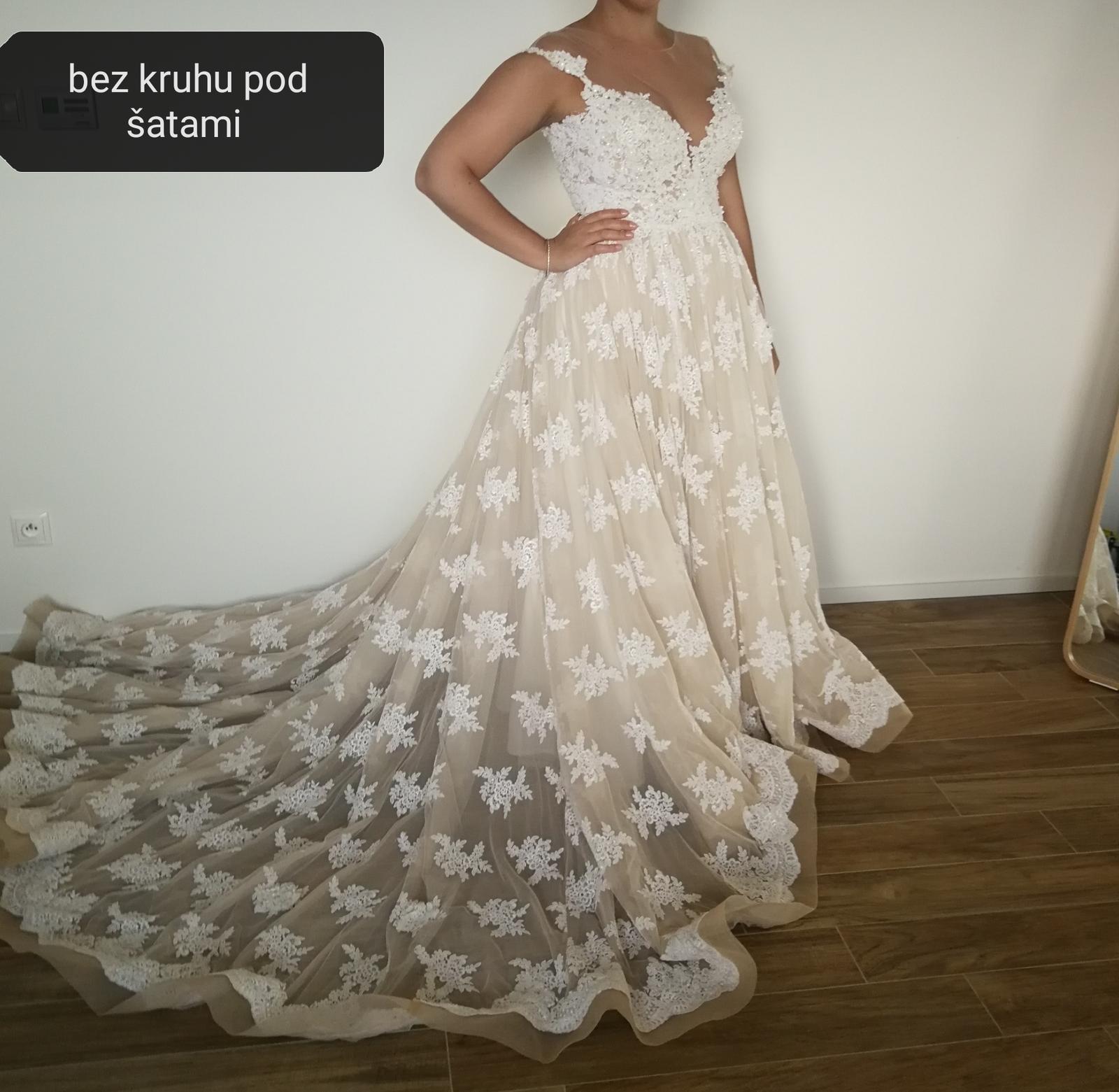 svadobné šaty mila nova - Obrázok č. 2