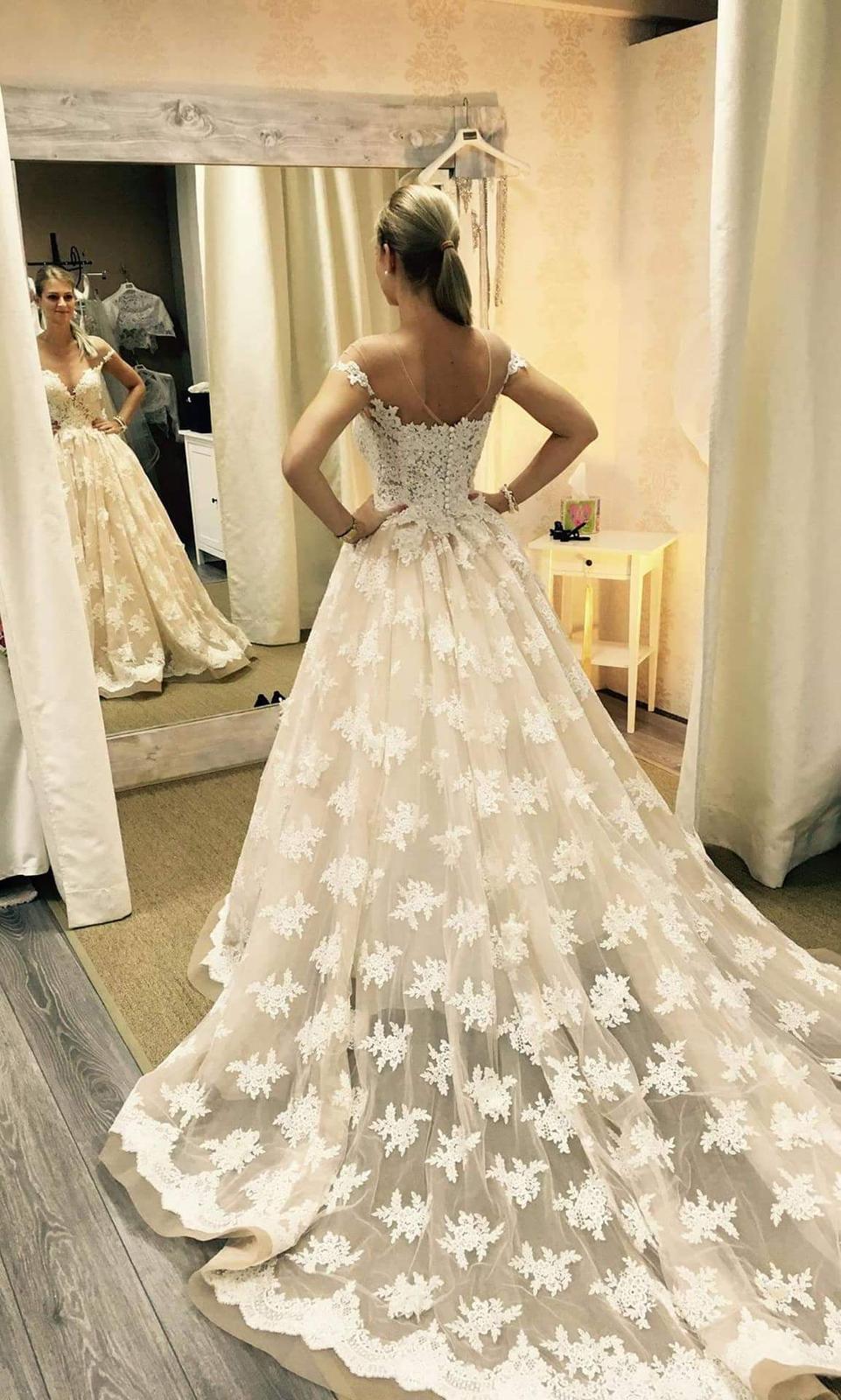 svadobné šaty mila nova - Obrázok č. 1