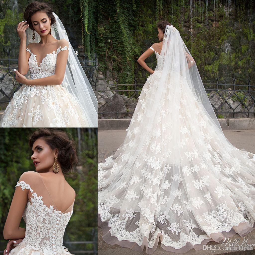 svadobné šaty mila nova - Obrázok č. 3