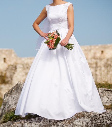 Svadobné šaty + kruh - Obrázok č. 2