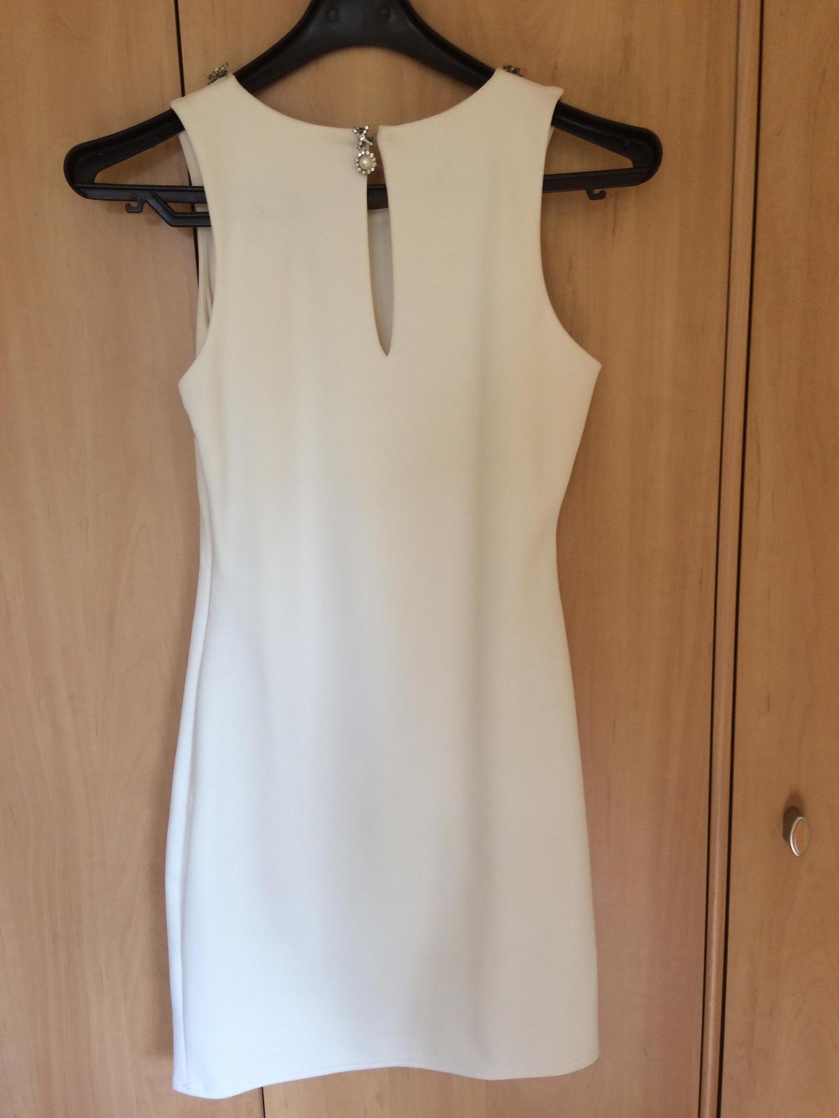 Biele spoločenské šaty - Obrázok č. 3