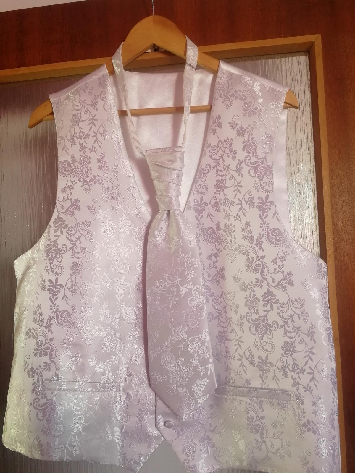 Vesta + kravata  - Obrázok č. 1
